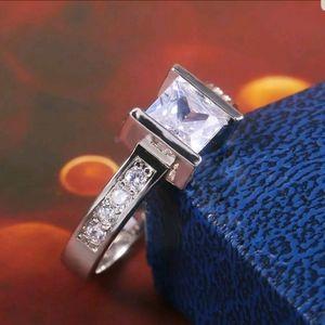 Gorgous Women's Engagement Rings 925 Silver PC